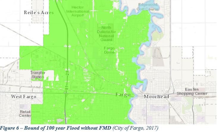Red River of the North - Fargo-Moorhead Diversion - AquaPedia Case on
