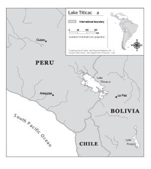 Titicaca Map
